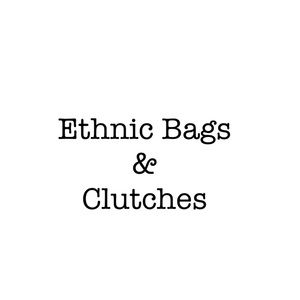 Handbags - Ethnic Boho Chic Clutches and Potli Pouch Bags